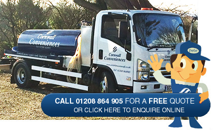Contact Cornwall Septic Tank Emptying